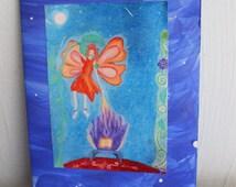 Fairy Book Mystery Greeting Gard
