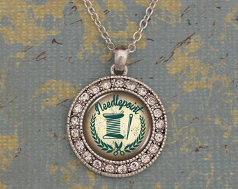 Needlepoint Artisan Necklace - OTNDP47283