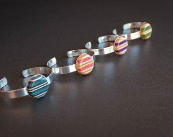 Recycled Skateboard Bracelet - Cuff