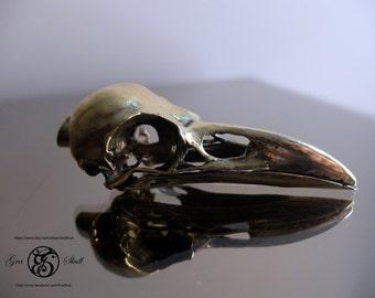 Crow skull pendant