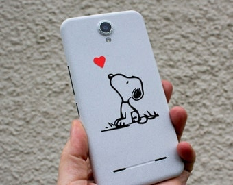 Snoopy decal, Snoopy and the Heart decal