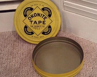 Okonite Tape Collectible Tin