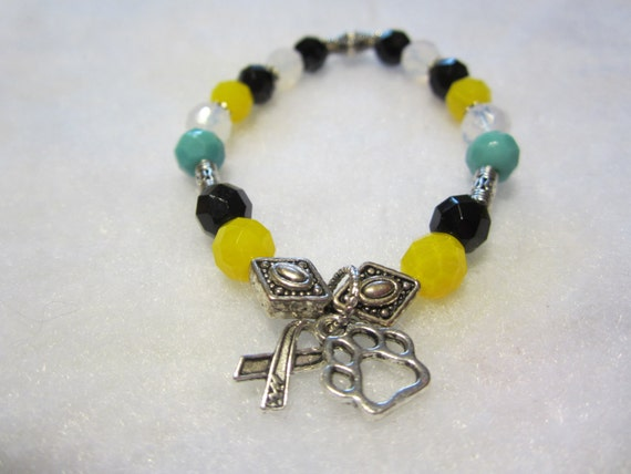Animal Cruelty Awareness Bracelet By Foxhuffdesigns On Etsy