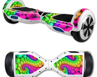 Skin Decal Wrap for Self Balancing Scooter Hoverboard unicycle Hallucinate