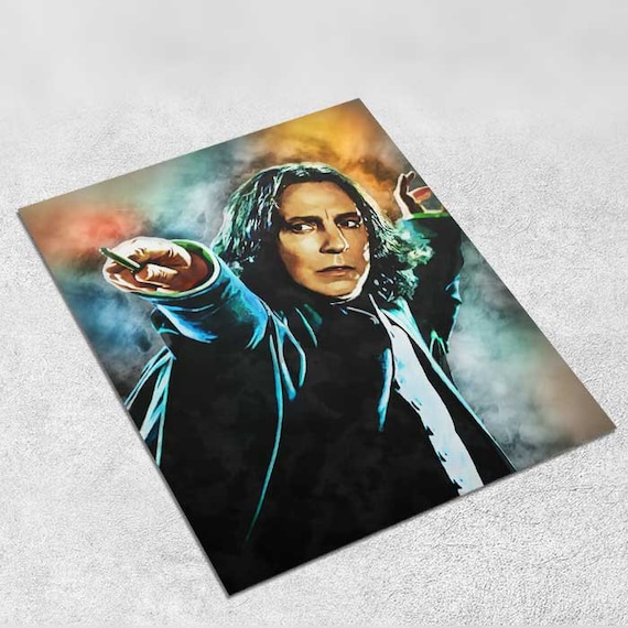 Harry Potter - Severus Snape - Art Print Poster INSTANT DIGITAL DOWNLOAD 8x10 inches Printable Gift, Wall Décor