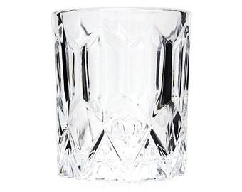 Set of 4 Crown Royal Double Shot Glasses, Collectible Crown Royal Barware