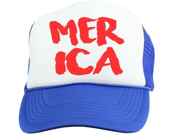 Merica 2016 Trucker Hat - Youth and Adult, Trucker Hat, Kid's Hat, Matching Hats, Mommy and Me Hats, Summer Hat, Baby Hat