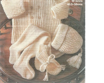 INSTANT DOWNLOAD - Knitting pattern, marriner - 1922, cardigan