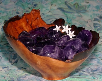 1 AMETHYST Zambia Tumbled Stone - Amethyst Crystal, Amethyst Stone, Tumbled Amethyst, Amethyst Gemstone, Tumblestone, Amethyst Healing
