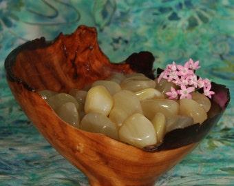 1 YELLOW OPAL Tumbled Stone - Yellow Opal Crystal, Yellow Opal Stone, Tumbled Yellow Opal, Yellow Opal Gemstone, Yellow Opal Tumblestone