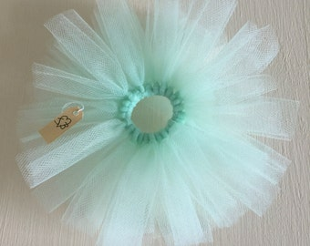 BLYTHE DOLL Pastel Mint Green Tulle Tutu. Suitable for Blythe, Pullip, Licca, Icy, and Jeccy Dolls.