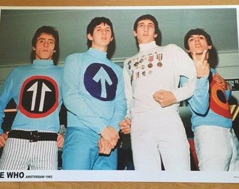 The Who in Amsterdam in 1965 poster 23 x 33