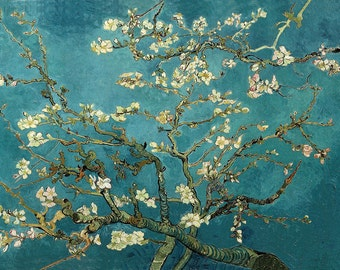 Vincent van Gogh: The Blossoming Almond Tree. Fine Art Print/Poster (001349)