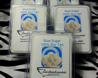 Blue Sugar Soy Tart Melts, Wax Tarts,  Soy Melts Wax Tarts, Scented Soy Wax Melts, Soy Tarts, Soy Melts, Wax Tarts, Candle Melts