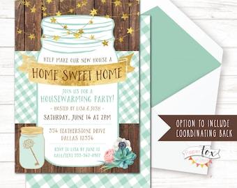 Housewarming invite | Etsy
