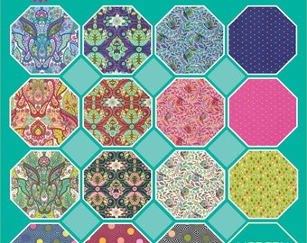SEPT PRESALE - 15 Yards / Slow & Steady / Tula Pink / Hare / Tortoise / Free Spirit / 15 Total Yards / Preorder