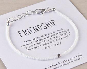 Friendship Bracelet Matte Beads, Best Friend Friendship Bracelet, Friend Bracelet, Best Friend Bracelet, Gift for Friend, Friendship Gift