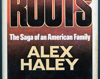 Book  Roots  by Alex Haley   1976 First Edition  w/ Dust Jacket   40 Years Old  Very Collectible   Kunta Kinte  Low Price !  Have a look