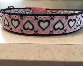 The Playgirl Small and Medium Dog Collar