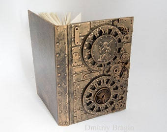 Steampunk cyberpunk notebook gift