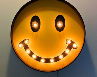 HAPPY FACE SIGN