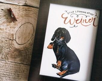 weiner dog | etsy