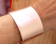 Copper cuff bracelet, Copper bracelet,copper jewelry, wide bracelet, arthritis jewelry, fall jewelry, copper anniversary gift