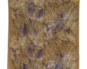 "Nani Iro Wild Elegant Wind Double Gauze Cotton Japanese Fabric, Kokka Fabric 1 yard and 7"""