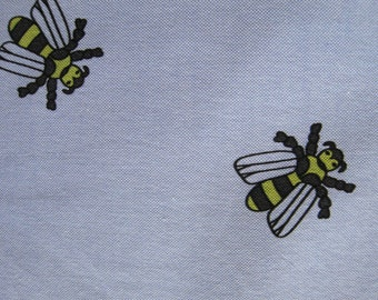 Japanese Oxford Shirting Bee Print