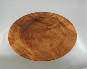 Amboyna Burl Platter