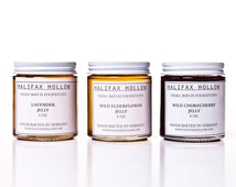 Gourmet Jelly & Fruit Butter Sampler- 3/4oz. Jars- Tasty Gifts for Any Occasion! Direct from the Farm!- Vegan/ Gluten Free/ Sugar Free Jam