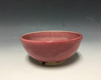 Wheel thrown ceramic bowl