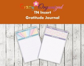 Gratitude Journal (TN Insert)