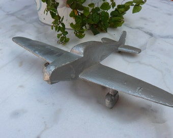 old toy plane