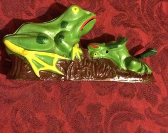 Cast Iron Frog Bank #2