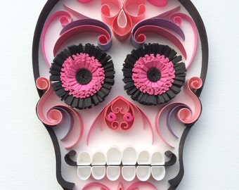 """Sugar Skull / Calavera Mexicana """"Doña Rosita"""""""