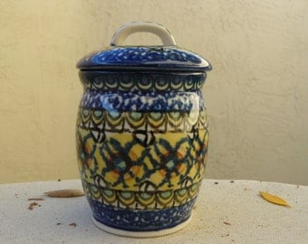 Polish Pottery - Unikat Small Pot/Jar