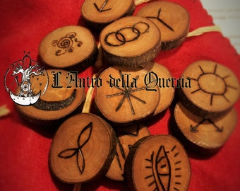 WITCHES RUNES - Divination, wicca, magic