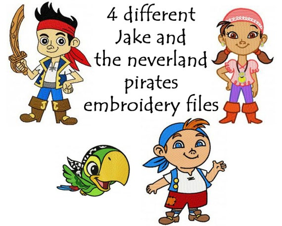 Pack jake and the neverland pirates by tessastrendytreasure