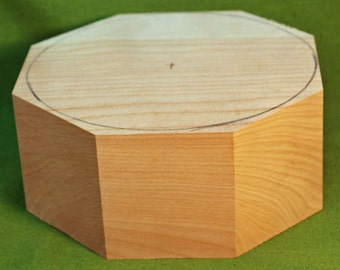 """Cherry Turning Bowl Blank - 6"""" Wide & 3"""" Tall,  FREE SHIPPING -  Item #512"""