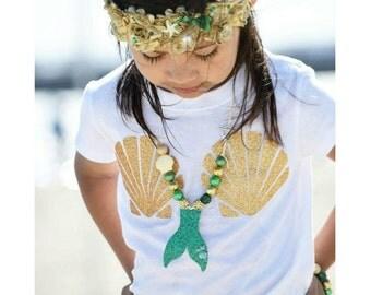 Mermaid Shabby Boho crown