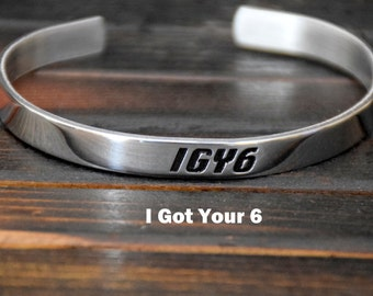 IGY6    I Got Your 6 bracelet