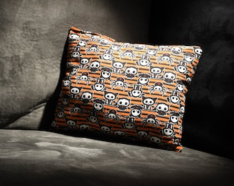 One of a Kind Handmade and Handsewn Skeleanimals Decorative Pillow!