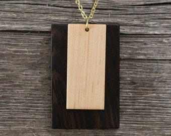 Dual Rectangle Pendant
