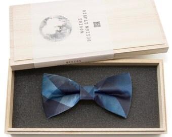 Classic Plaids Bowtie - birthday gift, Toddler Bowtie Toddler Bow tie, Groomsmen bow tie, Pre Tied and AdjustableNovioshk, H0227