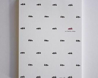 Red Ant - laFormicaRossa, block-notes