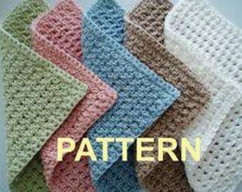 Crochet Dishcloths set of 3