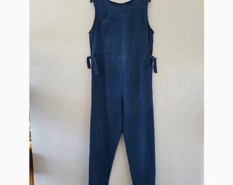 Vintage denim jumpsuit size 14