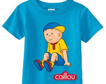 Caillou custom t-shirt (Different Colors)