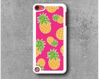 Case iPod Touch 5 Pink Pineapple